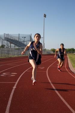 Sheila outruns Natalie